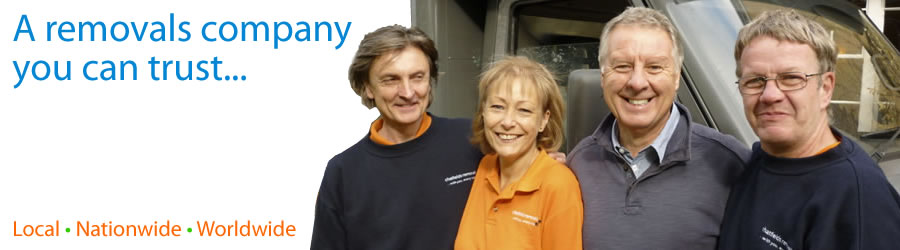 A removals company you can trust